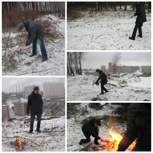 Действие Дениса Рудых Спаси и сохрани в Дзержинском